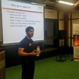 Neil Welch, Lead Strength and Conditioning Coach SSC presenting on 'Strength training for runners'