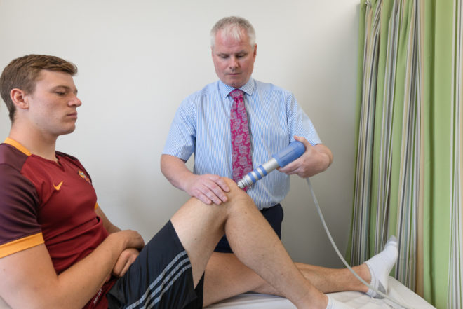 Shockwave Therapy at SSC