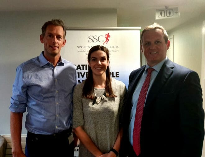Dr Andy Franklyn Miller, Katie Gill, Professor Cathal Moran