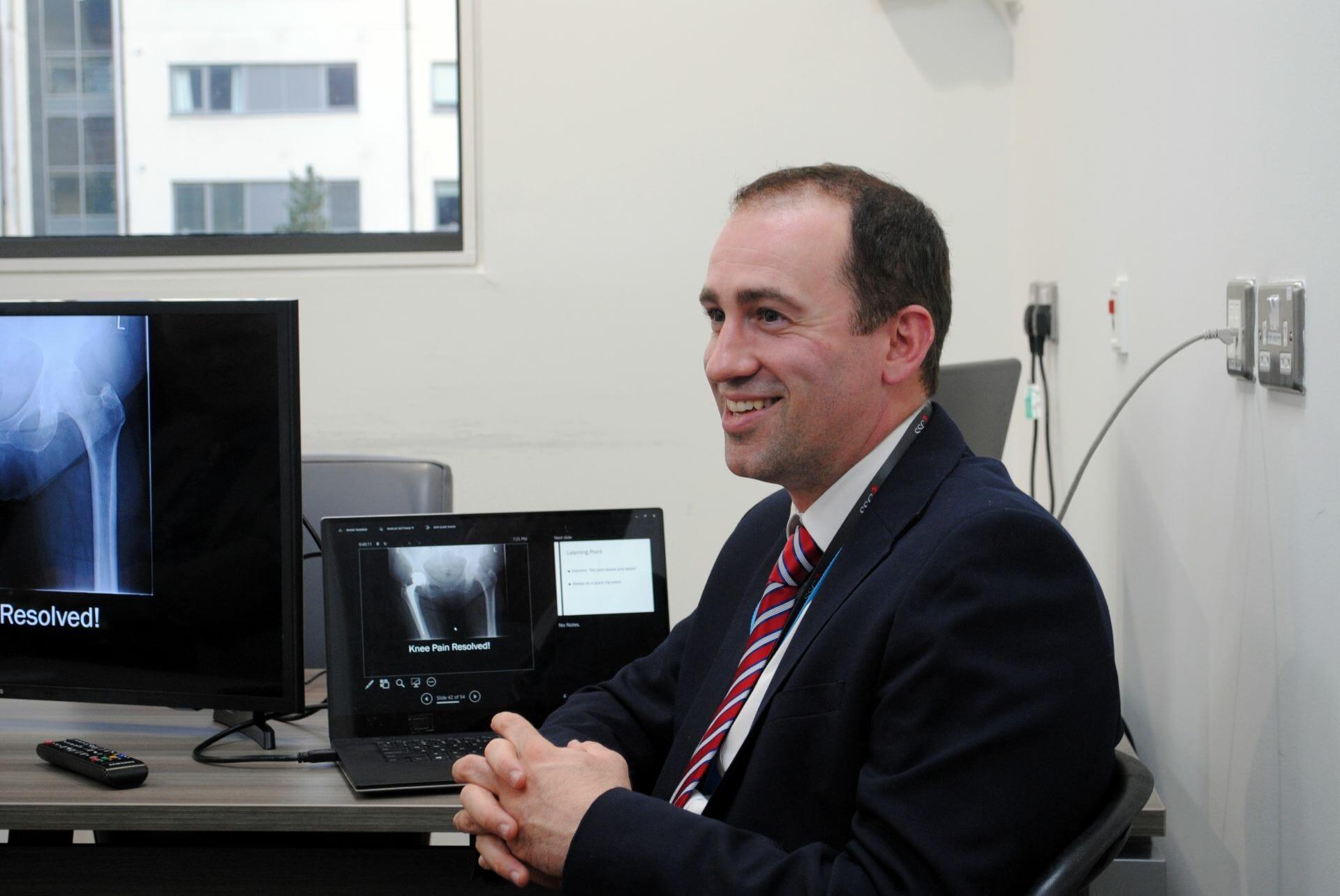 Mr Neil Burke, Consultant Orthopaedic Surgeon
