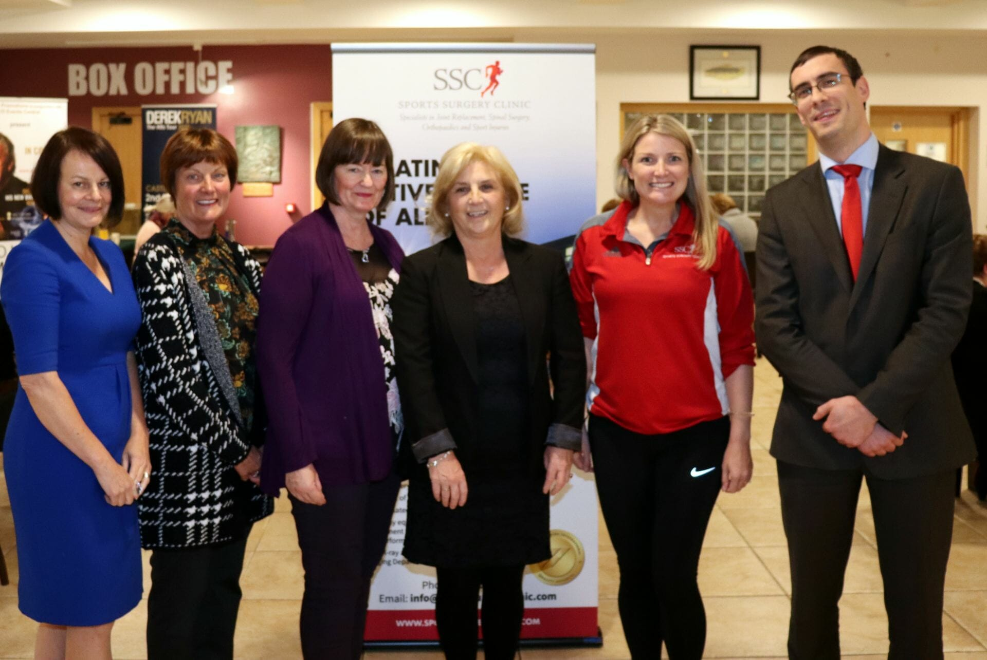 Fiona Roche Business Development Manager with the Blaney Blades and SSC Clinicians in Monaghan