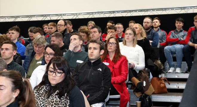 Attendees at the SSC Sports Medicine Conference 2019