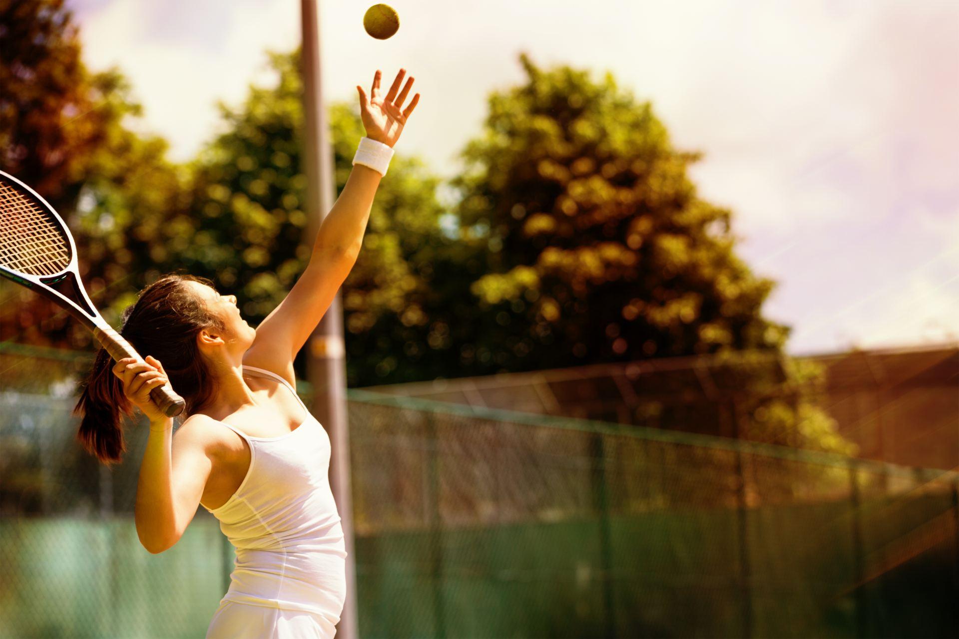 Tennis Back pain