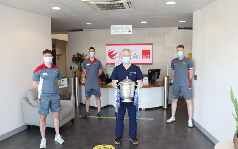 Anglo Celt Cup SSC Physiotherapy Department
